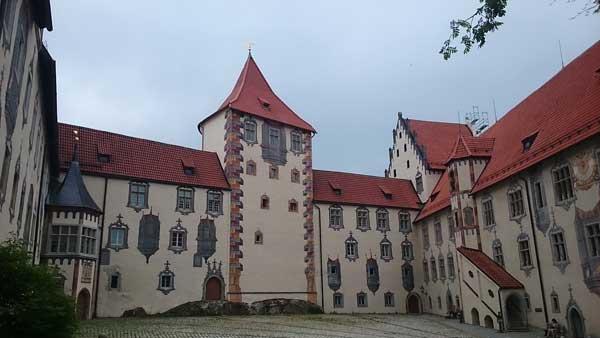Füssen – püspöki palota