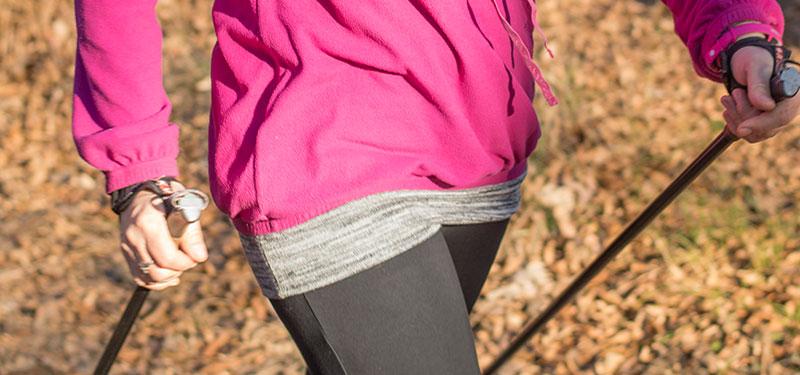 nordic walking élettani előnyei